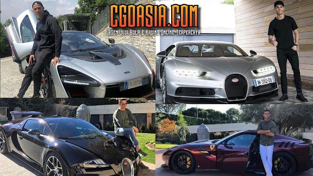 Koleksi mobil mewah Cristiano Ronaldo bertambah lagi. - Rumahsport.com