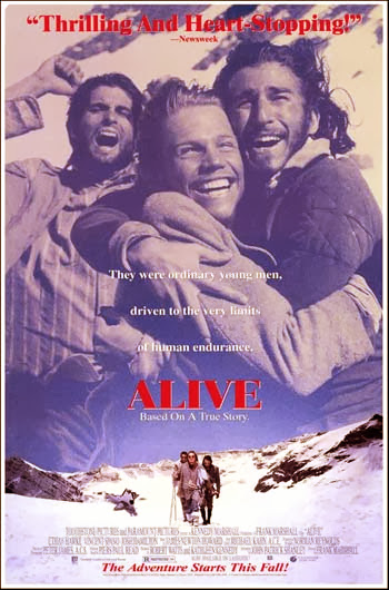 Alive 1993 Hindi Dubbed Dual DVDRip 300mb