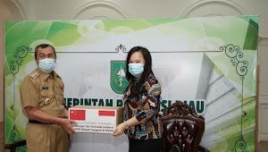 Gubri Terima 500 Paket Sumbangan dari Konjen RRT di Medan