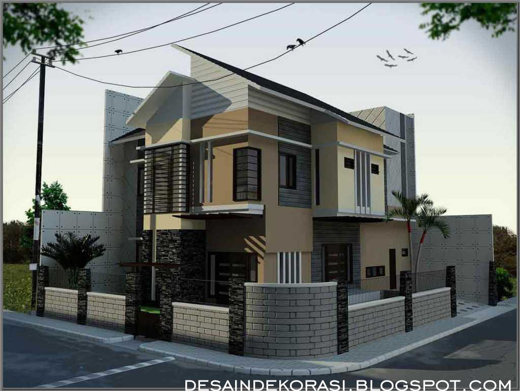 Aneka Pagar Rumah Minimalis Dan Rekomendasi Gambar Desain Dekorasi