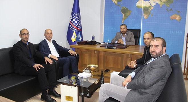Basın-Yayın ve Enformasyon Diyarbakır İl Müdürlüğünden İLKHA'ya ziyaret