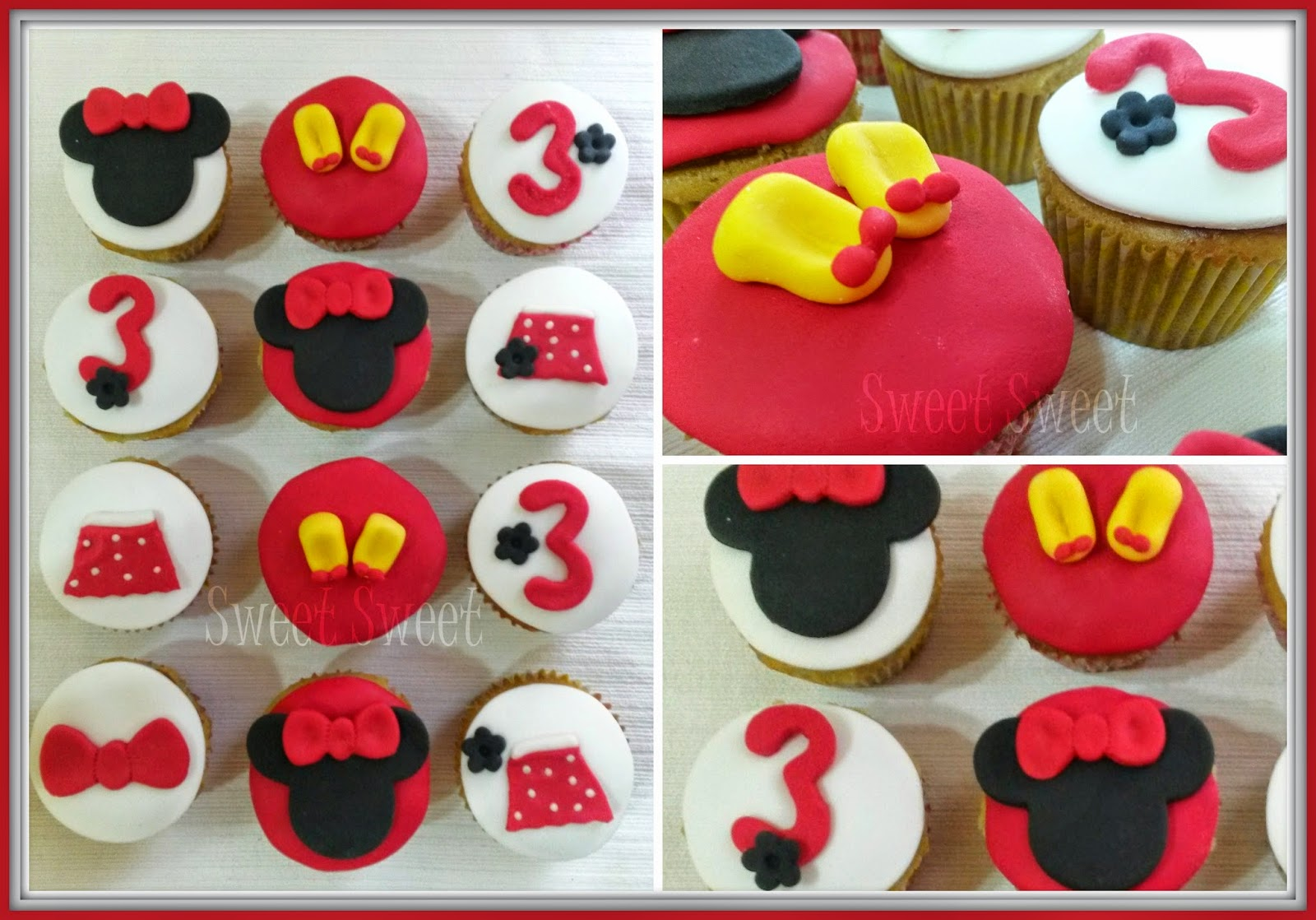 Sweet Sweet Pasteleria Tortas Decoradas Cupcakes Minnie Mouse
