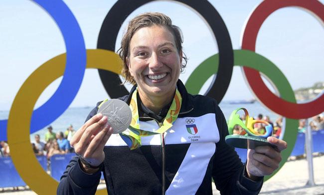 Rio 2016, Bruni argento e dedica alla compagna