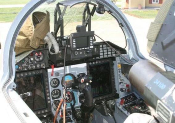 Mikoyan MiG-29SMT cockpit