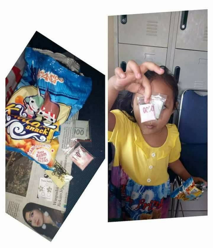 Hadiah uang tunai di dalam snack Kabilasa (facebook.com)