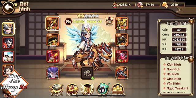 [SMR0008] Đại Chiến Samurai - Team Mistuhide S171- Lực Chiến 62683 K