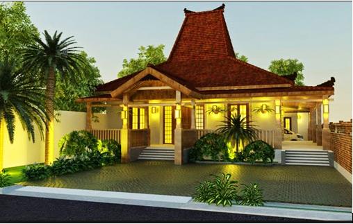 Desain Gambar Rumah Etnik Minimalis