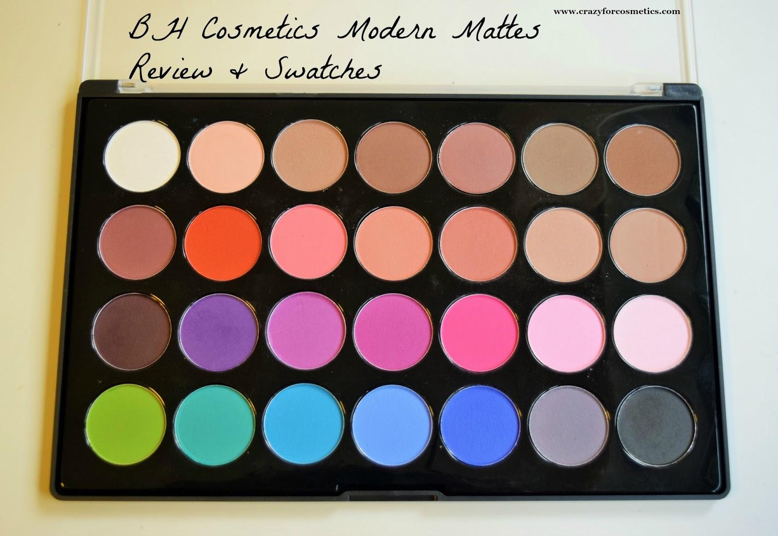Bh cosmetics modern mattes 28 color eyeshadow palette for Modern neutrals palette