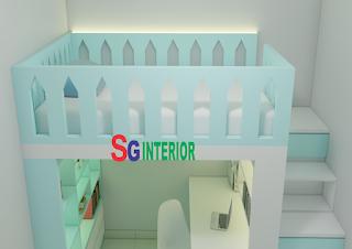 desain-interior-kamar-anak-perempuan-kota-wisata-cibubur
