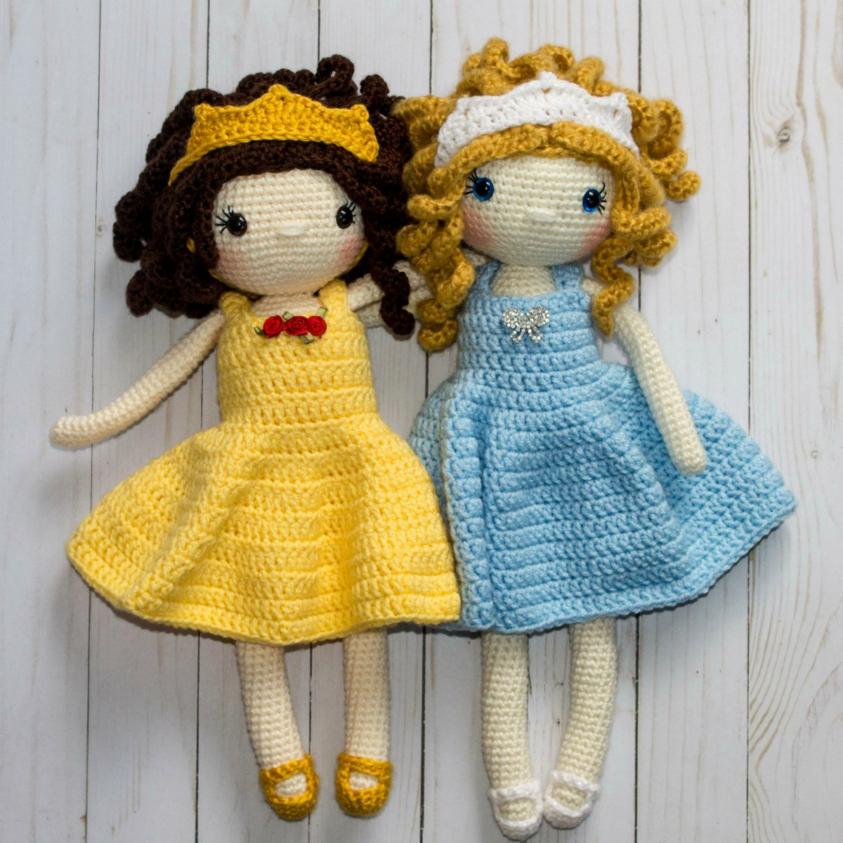 CROCHET PATTERN Sleeping Beauty Doll // Amigurumi // Princess | Etsy | 1200x1200