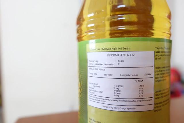 minyak bekatul oryza grace