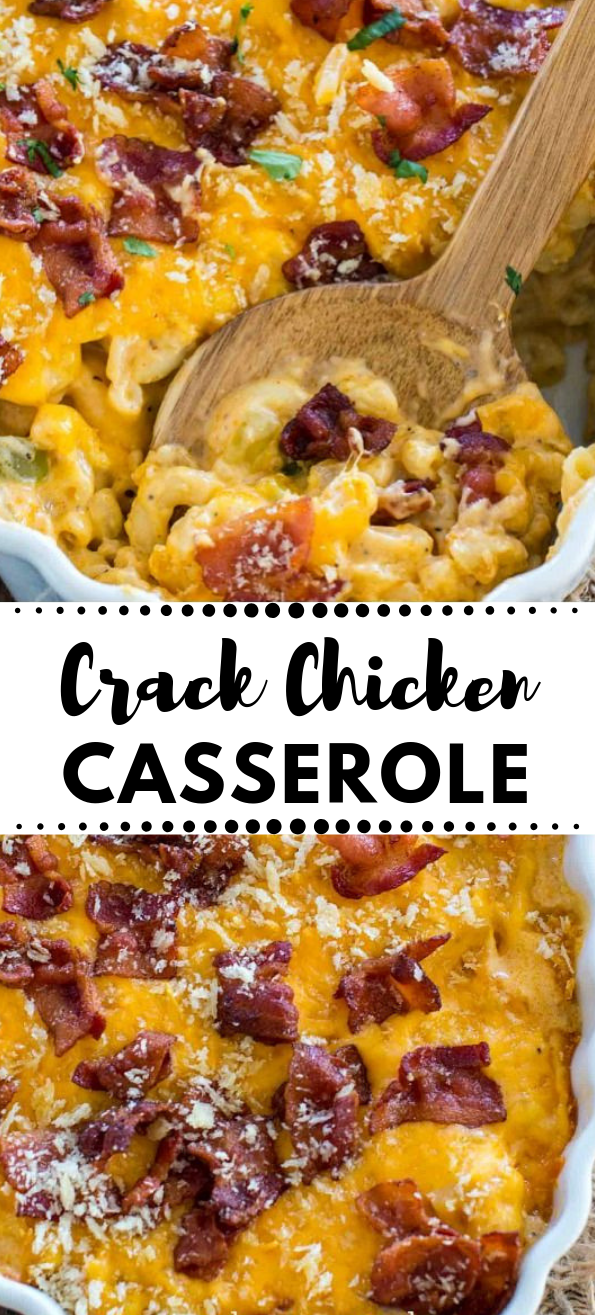 CHEESY CRACK CHICKEN CASSEROLE  #vegetarian #casserole #cauliflower #easy #dinner