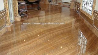 contoh lantai marmer import