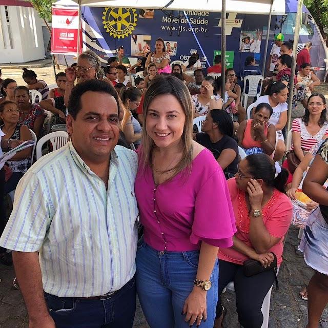 Itapetinga: Feira de Saúde da Mulher promovida pela Fundação José Silveira já registrou mais de 3.000 atendimentos/procedimentos
