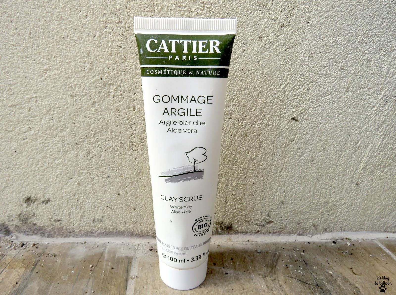 Gommage Argile - Argile Blanche Aloe Vera - Cattier