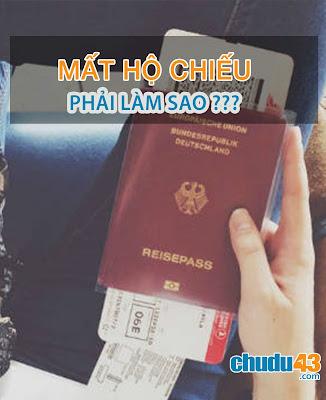 Phải làm gì nếu mất hộ chiếu khi đi du lịch? (Chudu43.com)