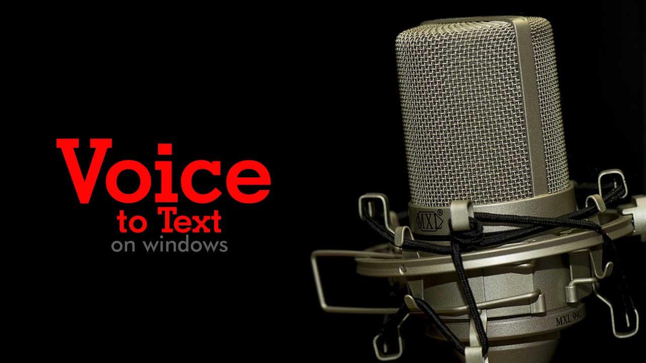 Cara Mudah Transkip Suara Menjadi Teks di Komputer (Voice to Text)
