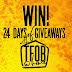 24 Days of Giveaways - @TOBeerFestival @TheBeerStoreON  #TOBeerFest #CanadaDay #Toronto