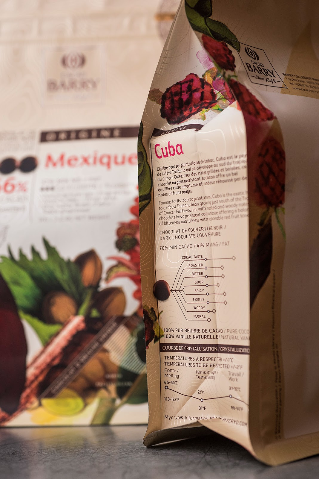 Cacao Barry on Packaging of the World