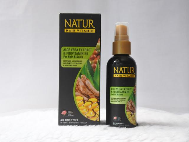 Natur Hair Vitamin Aloe Vera