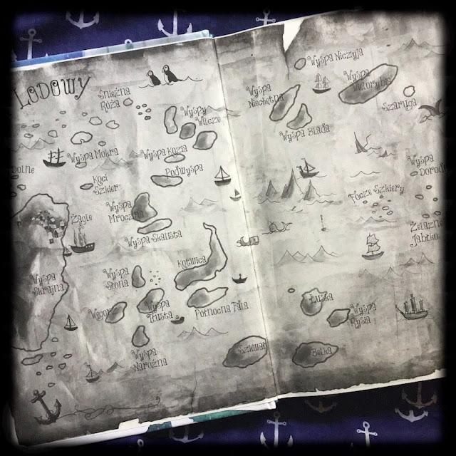 """""""Piraci Oceanu Lodowego"""", Frida Nilsson, Zakamarki"""
