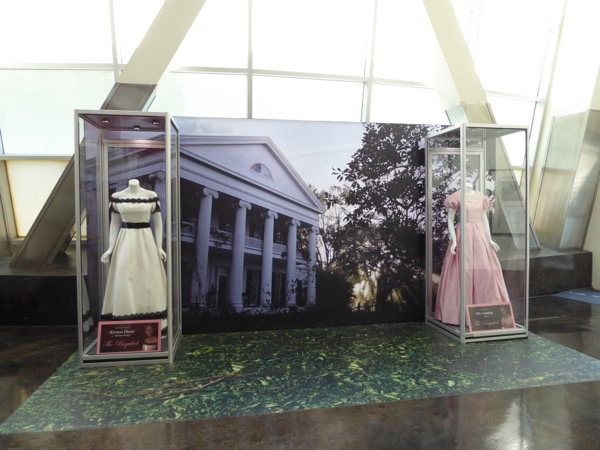Beguiled movie costume exhibit