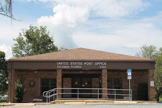 Oficina postal en Coleman
