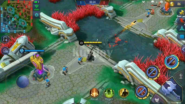 Script Map Spiderman Mobile Legends Patch Terbaru