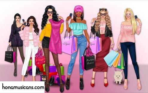 شرح لعبة مكياج المشاهير و النجمات Makeup Girls - Star dress up games for kids للاندرويد