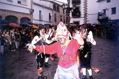 Montehermoso los negritos de San Blas y Extremadura