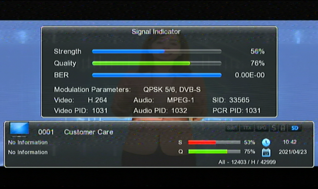 GX6605S HW203.00.001 NEW SOFTWARE 2021 STARSAT MENU