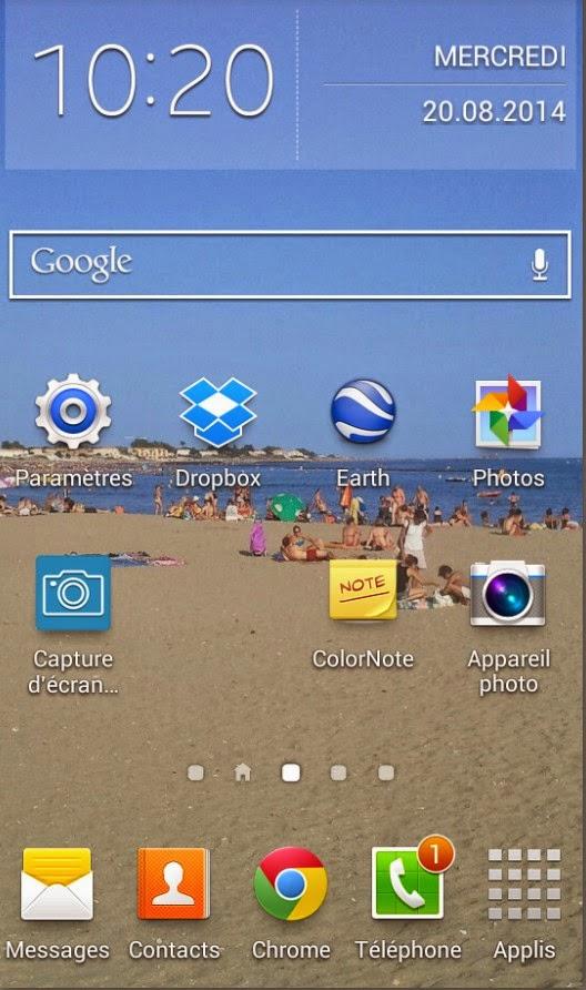 Icone facebook disparu telephone android - Raccourci bureau disparu ...