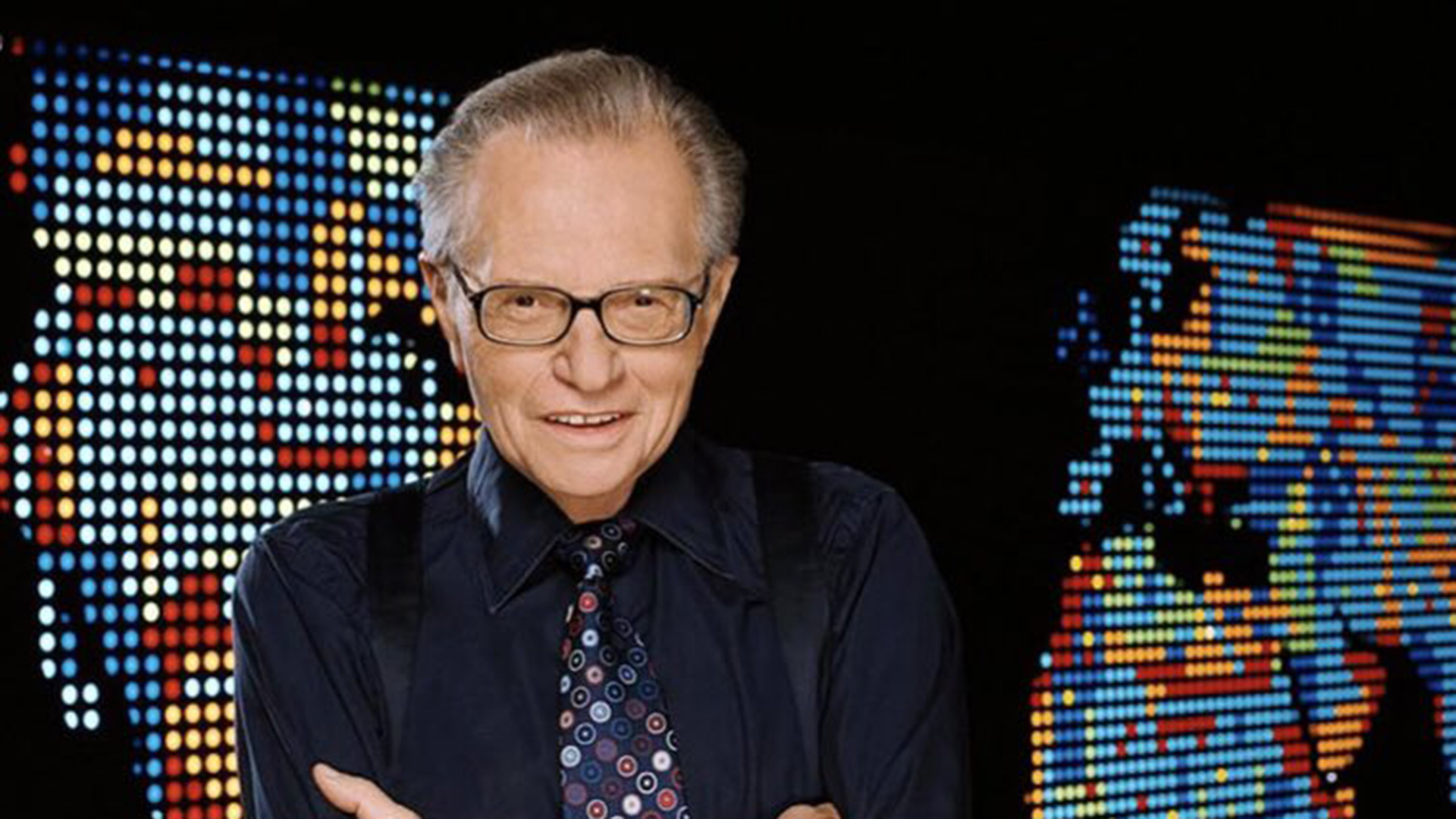 Murió Larry King, el legendario presentador de radio y televisión de EEUU