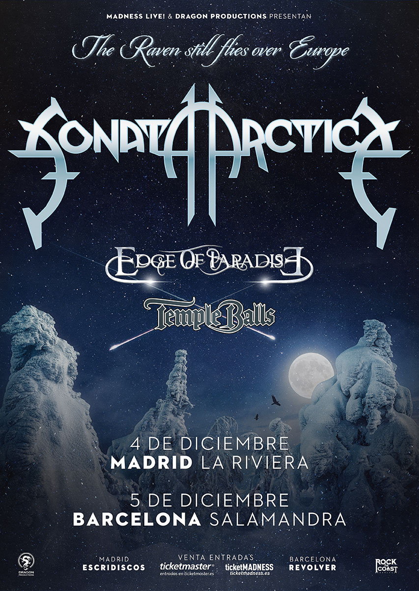 Sonata Artica Spanish tour