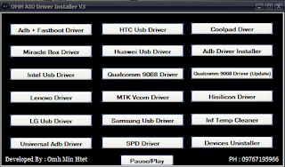 USB Driver Installer v3 Latest For Mobile Update Boot Free Password Download By Androidtipsbd71