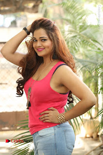 Tollywood Actress Ashwini Latest Stills in Ripped Jeans  0019.JPG