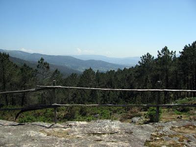 vista panorâmca de montanhas