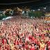 Comício do 13 bate recorde e leva 11 mil pessoas às ruas de Mairi