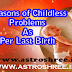 Childless problems Reasons and Remedies