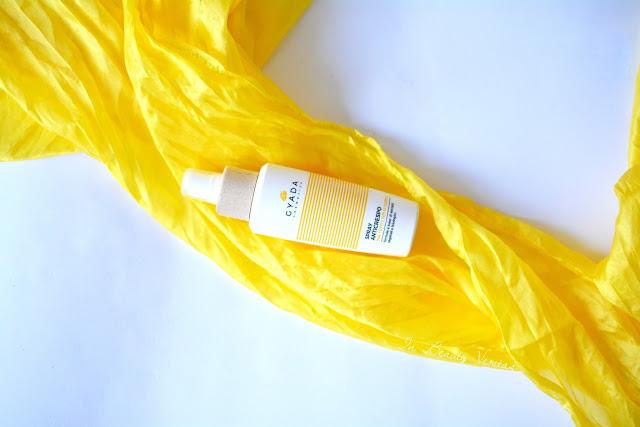 gyada cosmetics review, gyada cosmetics recensione, gyada cosmetics spray anticrespo, gyada cosmetics prodotti per capelli