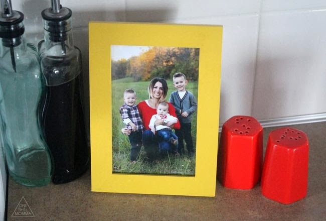 ONE little MOMMA- using photos to decorate