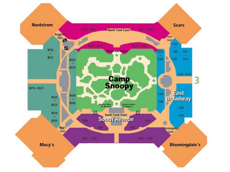 Mall Of America 3rd Floor Map.Mall America 3rd Floor Map