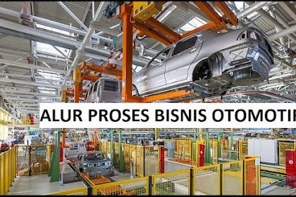 Alur Proses Bisnis Manufaktur Bidang Otomotif
