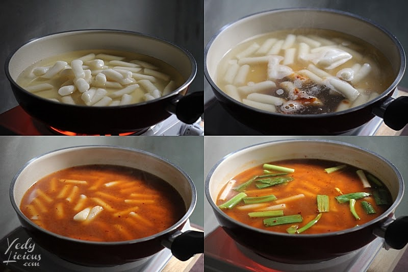 Procedure on How To Make Toppoki, How To Make Tteokbokki Dukbokki Toppoki Korean Spicy Rice Cake Recipe, Popular Korean Street Food Snack Recipe, 떡볶이, Best Easy Tteokbokki Recipe, Tteokbokki Manila, Korean Food Recipe, Where To Buy Tteokbokki Korean Spicy Rice Cake in Manila, Top Best YedyLicious Manila Food Blog, Yedy Calaguas
