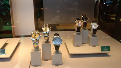 The Rolex display in Munich
