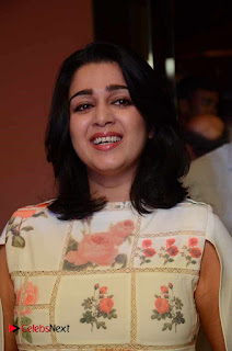Actress Charmi Kaur Pictures at Nirmala Convent Movie Premier Show  0004