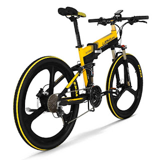 50% dto en bicicleta eléctrica LANKELEISI XT750