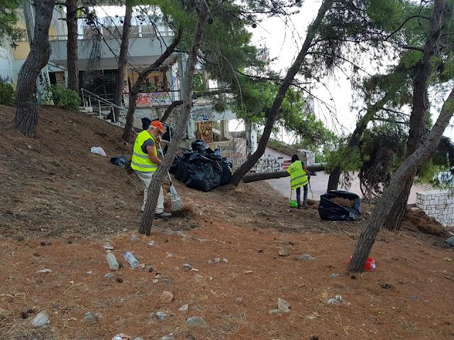 Κάθε Μέρα Δήμος Ναυπλιέων: Επιχείρηση Αρβανιτιά - Συντήρηση υποδομών - Περιφέρεια και κέντρο