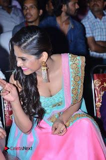 Actress Naina Ganguly Stills in Long Dress at Vangaveeti Audio Launch  0092.JPG