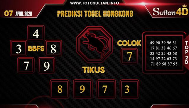 PREDIKSI TOGEL HONGKONG SULTAN4D 07 APRIL 2020